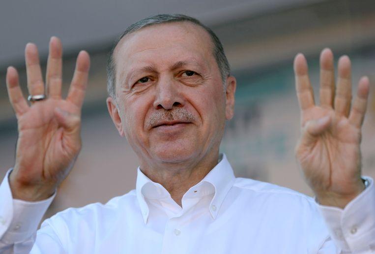 Recep Tayyip Erdogan Beeld EPA