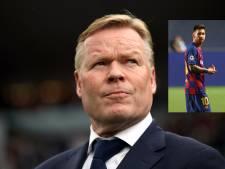 'Messi heeft slecht nieuws voor Koeman: Argentijn overweegt vertrek bij Barça'