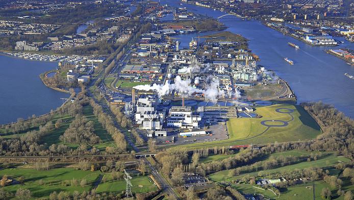 De fabriek van DuPont/Chemours