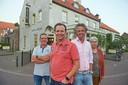 De vier initiatiefnemers van de aankoop van 't Mirakel te Boerdonk. vlnr. Maarten Kanters,  Antoon Donkers, Coen Hendriks en Ria Vilier, van coöperatie Boerdonk Buitengewoon.
