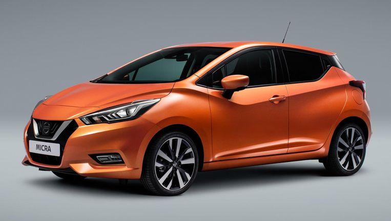 De nieuwe Nissan Micra Beeld