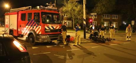 Brandweer rijdt toevallig langs ongeval en helpt slachtoffer