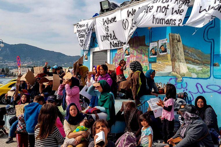 Tussen 1 en 26 mei kwamen 13.606 migranten vanuit Turkije aan in Griekenland.