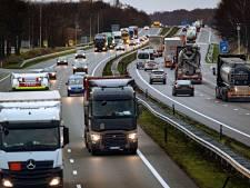 Steeds drukker op de weg in Brabant maar files blijven (voorlopig) uit