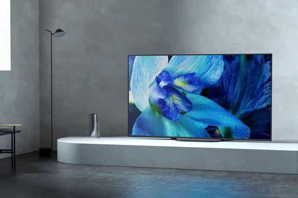 Sony's AG8-oled-tv. Let vooral op de kleuren.