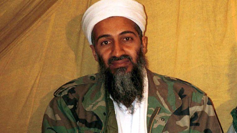 Archieffoto: Osama bin Laden in Afghanistan Beeld AP