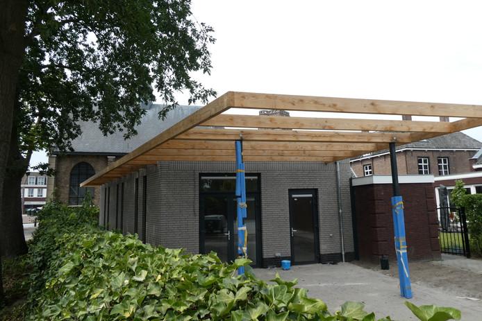 De nieuwe multifunctionele ruimte bij het Protestants kerkje in Sint-Michielsgestel