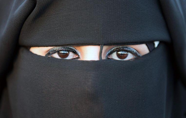 Het dragen van een nikab is niet meer toegestaan in Sri Lanka.