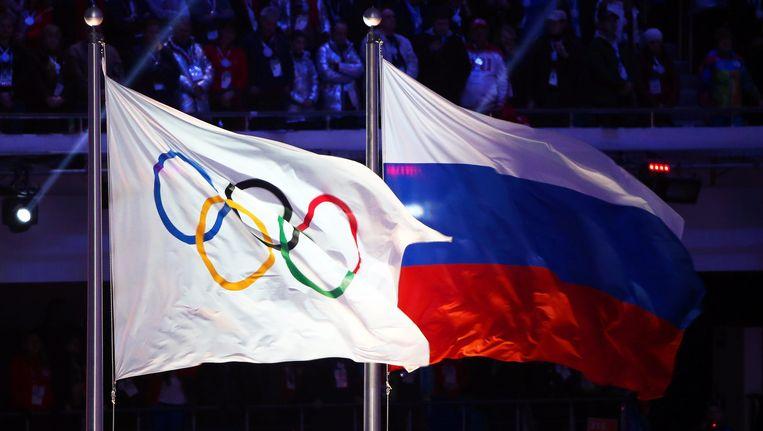 Russische sporters welkom op Olympische Spelen Beeld epa