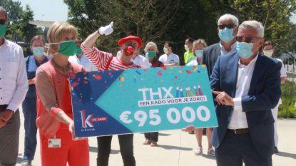 K in Kortrijk schenkt alle werknemers AZ Groeninge cadeaubon van 25 euro