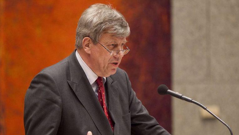 Minister Ivo opstelten (Veiligheid en Justitie). Beeld anp