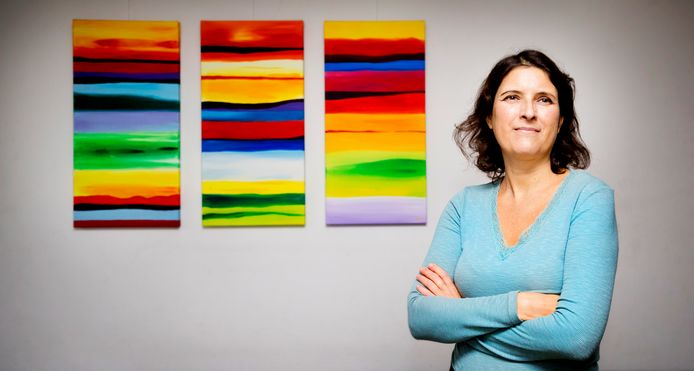 Cathelijne Wildervanck geeft workshops aan mensen met ADHD.