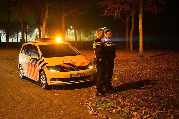 Politie op zoek naar man met wapen in Valkenswaard