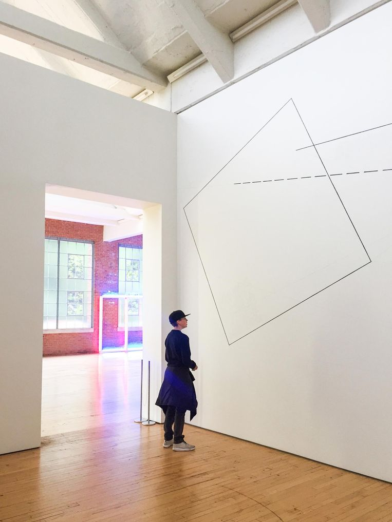De dependence van het Dia Museum in Beacon. Beeld Corinne van Duin
