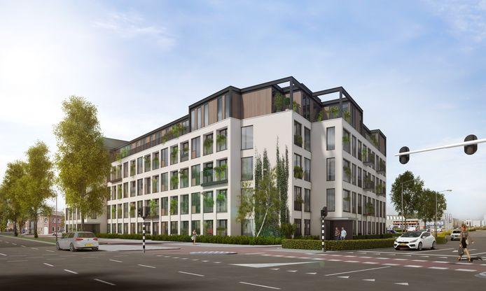 In het voormalige GGD-gebouw aan de Orthenseweg in Den Bosch komen 109 appartementen.