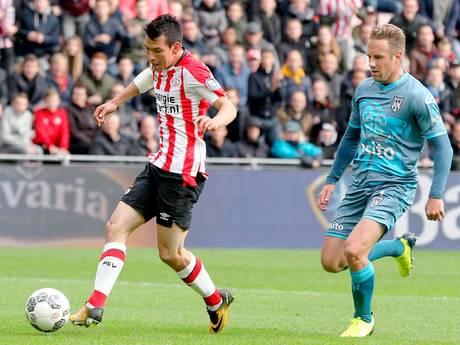 PSV wint ook ruim van Heracles Almelo
