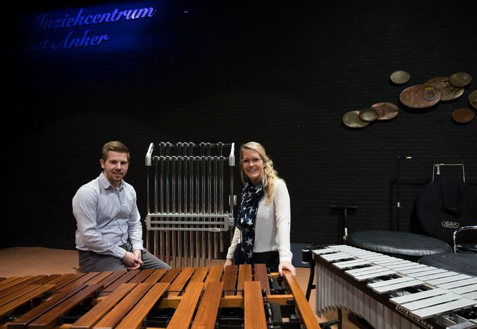 Wouter Mommers (links) en Marianke Hobé (rechts) kijken uit naar het concours in Veldhoven