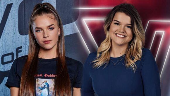 Voice-deelneemsters Mikki en Irene