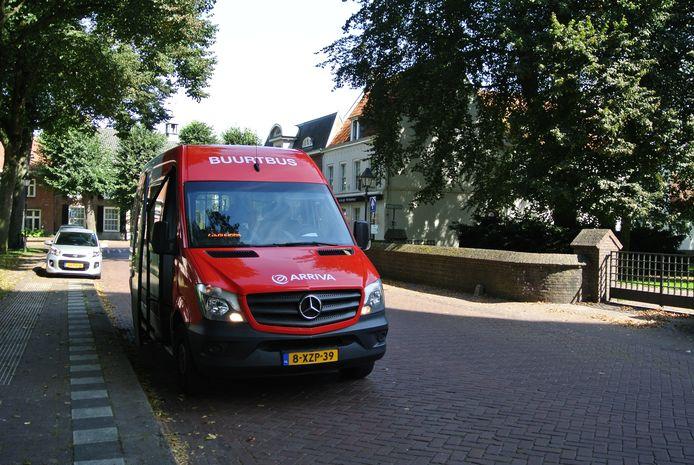De buurtbus Hilvarenbeek.