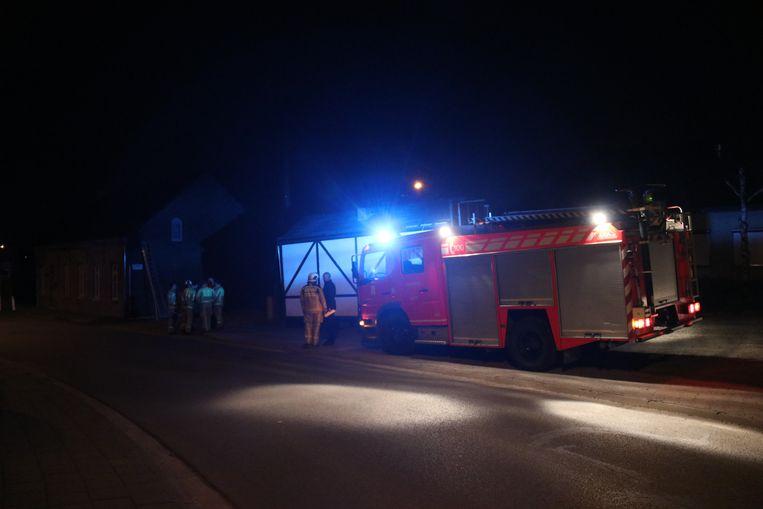 De brandweer moest uiteindelijk niet meer ingrijpen.