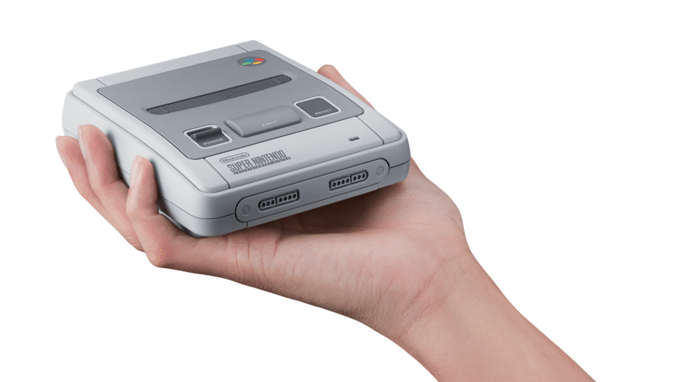 Nostalgie! Super Nintendo komt terug in het klein