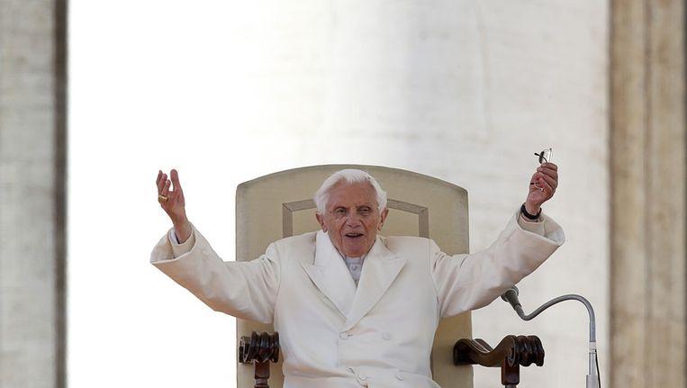 Paus Benedictus XVI (bijna paus-af) Beeld reuters