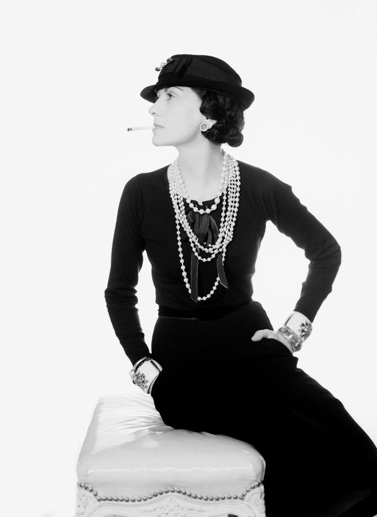 Coco Chanel, 1935. Beeld Man Ray