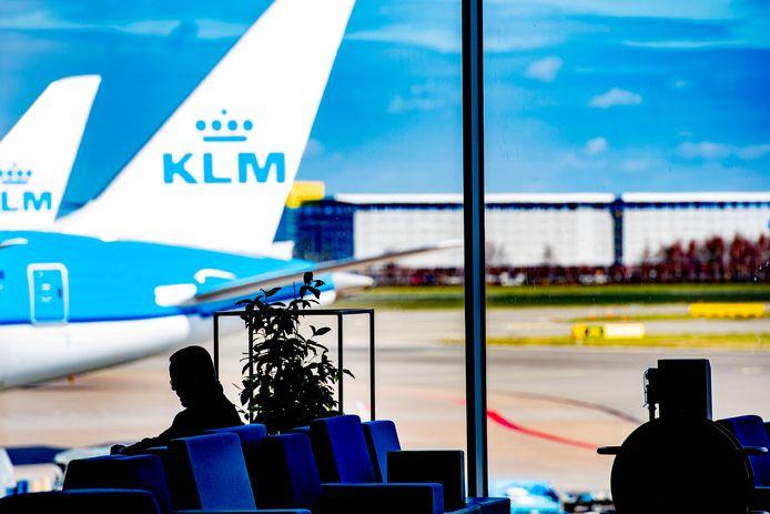 Passagiers die vanuit New York naar Nederland vliegen, moeten een gezondheidsverklaring afleggen.