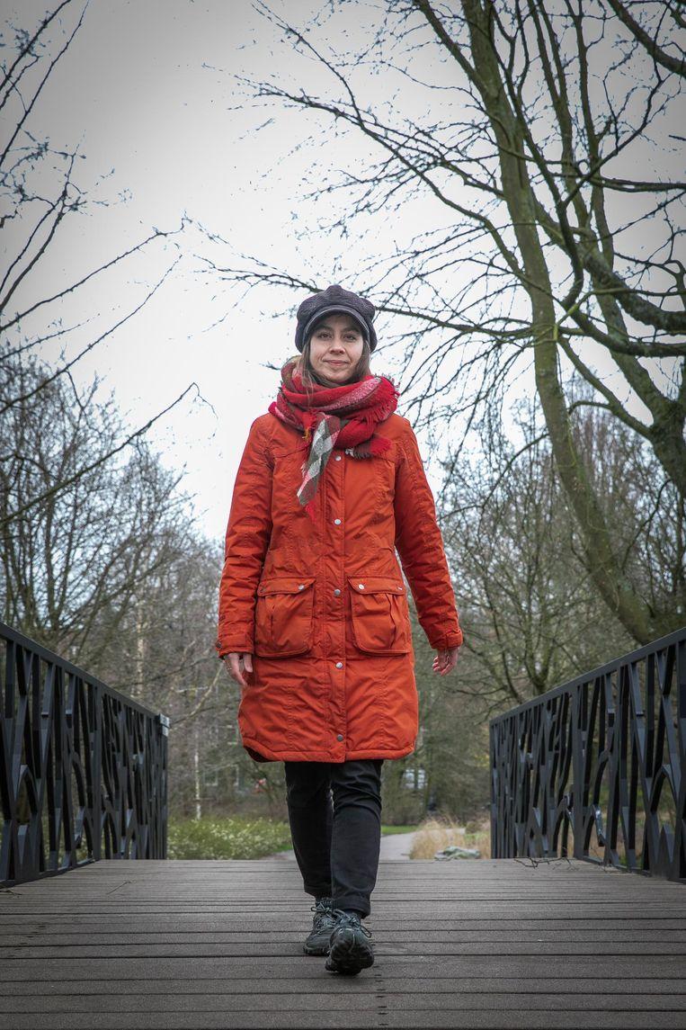 Manja Herrebrugh (33) Beeld Dingena Mol