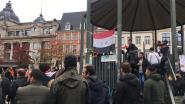 Antwerpse Irakezen protesteren op Groenplaats tegen geweld in thuisland