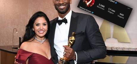 Weduwe Kobe Bryant laat voor het eerst van zich horen en deelt hartverscheurende foto
