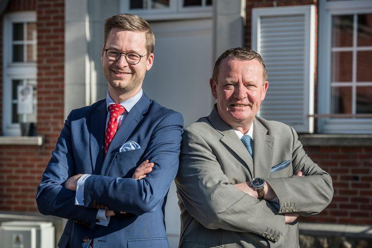 Wouter Vermeersch is lijsttrekker voor de Kamer en Stefaan Sintobin voor het Vlaams Parlement.