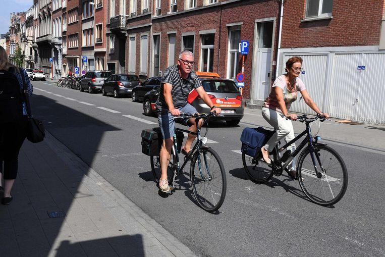 Negen maanden na de invoering van het circulatieplan is het aantal fietsers in de binnenstad gestegen met 32 procent.