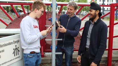 Nooit meer platte gsmbatterij op school Don Bosco dankzij zelfontworpen ecovriendelijke laadpaal