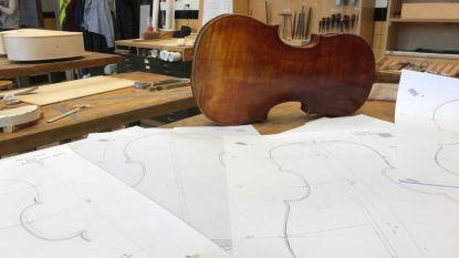 Tentoonstelling van waardevolle violen en gitaren