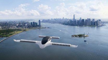 Deze vliegende taxi stijgt verticaal op en haalt snelheid van 300 km/u