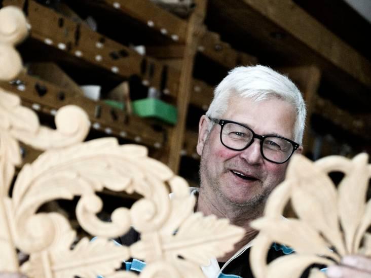 Meubelmaker (68) uit Enschede nog lang niet achter de geraniums
