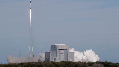 SpaceX lanceert vrachtcapsule naar ISS