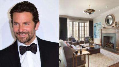 BINNENKIJKEN. Bradley Cooper raakt deze New Yorkse flat aan de straatstenen niet kwijt