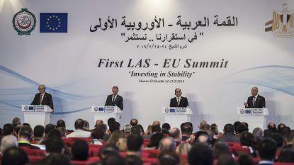 """EU en Arabische Liga kondigen """"nieuw tijdperk"""" aan ondanks verschillen"""