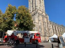 Koster Lebuinus Deventer 'hoogst ongelukkig' met demonstranten in 'zijn' toren