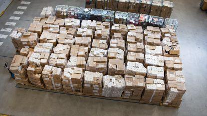 Bristol Beringen schenkt 7.500 paar schoenen aan Rode Kruis