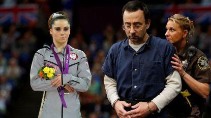 """Akelig sms'je toont hoe schijnbaar succesvolle Spelen van 2012 door pedofiele dokter pure horror waren voor gymnaste: """"Kom mij redden!"""""""