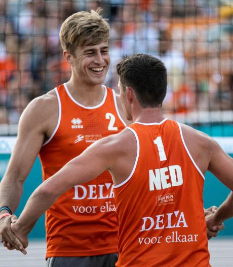 Boehlé en Van de Velde ondanks nederlaag verder op EK beach