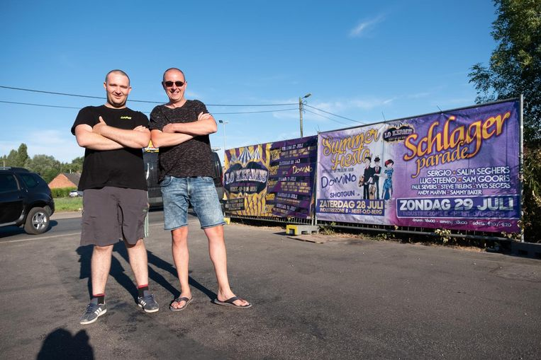 Organisatoren Steven Scheirs en Michael Dens.