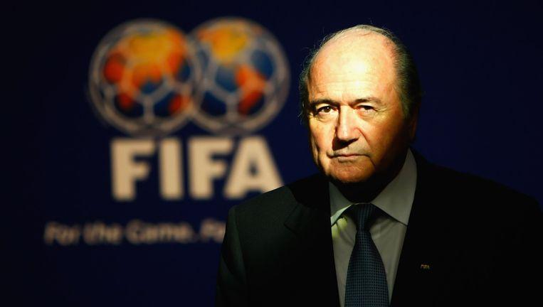 Sepp Blatter. Beeld Bongarts/Getty Images
