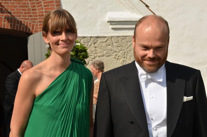 Anders Holch Povlsen met zijn vrouw Anne.