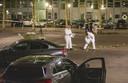2019-07-21 00:00:00 AMSTERDAM - Bij metrostation Kraaiennest in Amsterdam-Zuidoost is een dode gevallen als gevolg van een schietincident. ANP MICHEL VAN BERGEN