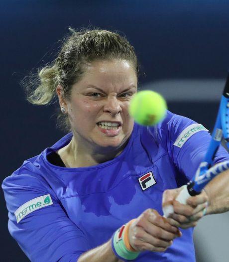 Blessée, Kim Clijsters déclare forfait pour le tournoi de Cincinnati