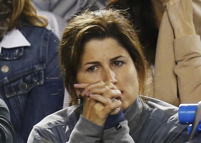 Mirka Federer, vrouw van Roger.
